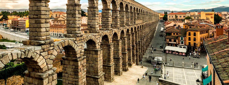 acueducto segovia espana fascinante