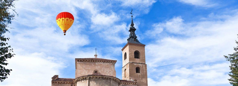 Vuelo en globo en Segovia
