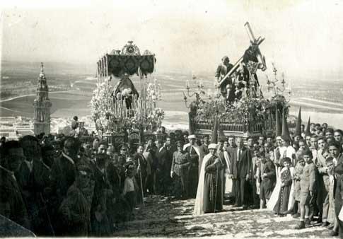 Semana Santa de Estepa antigua fotografia