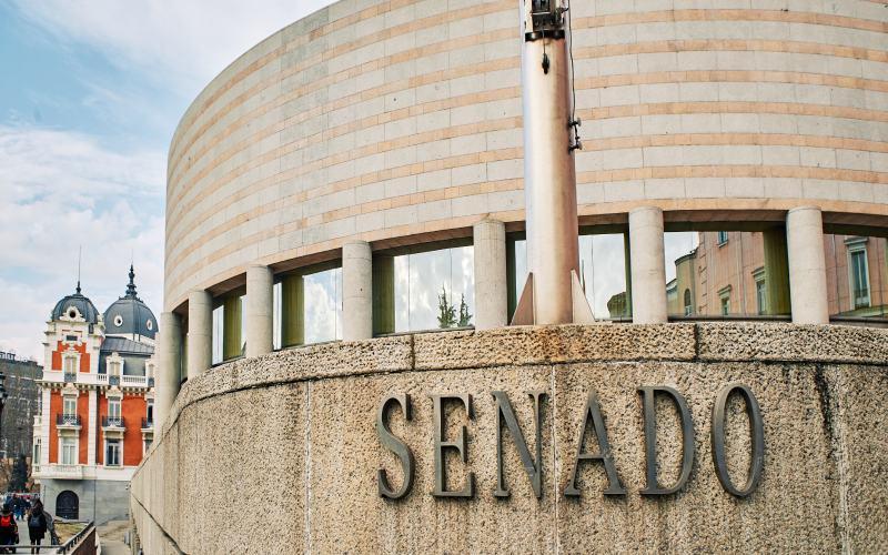 EL nuevo edificio del Senado