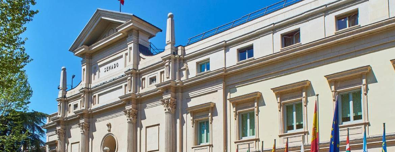 Palacio del Senado en Madrid