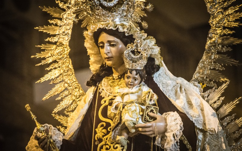 La Virgen del Carmen de Sevilla
