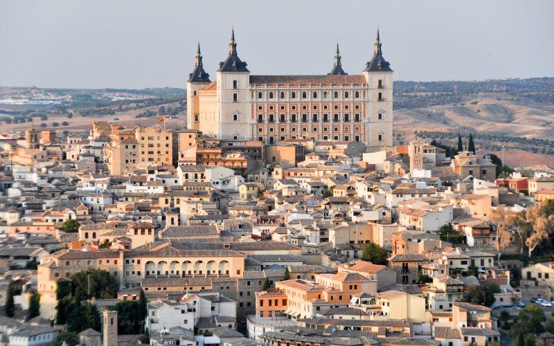 Vistas del Alcázar de Toledo