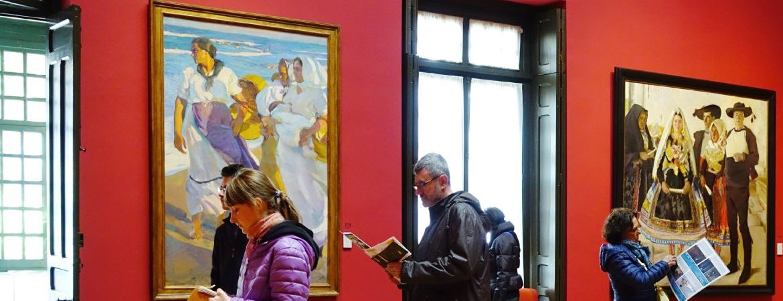 Visitantes en el Museo Sorolla