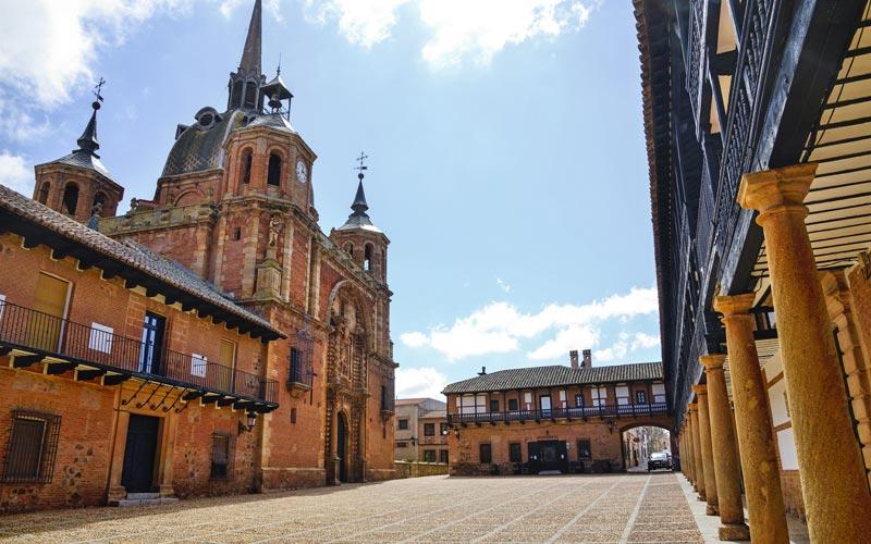 Lugares desconocidos de la Mancha: San Carlos del Valle