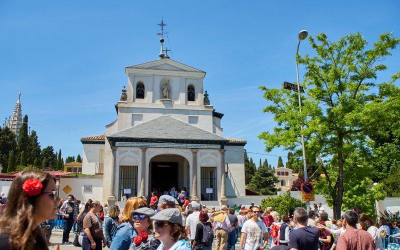 Ermita de San Isidro de celebración el 15 de mayo