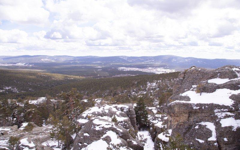 Vistas de Castroviejo nevado