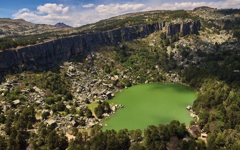 Vistas del Parque Natural y la Laguna Negra