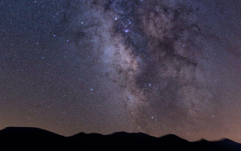 Cielo nocturno en Babia