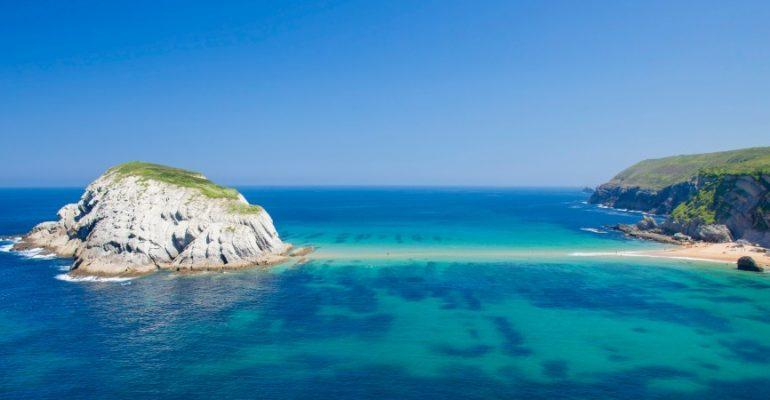 Playa de Covachos: andar sobre el agua en marea baja | El Rincón del Finde: A remojo 3