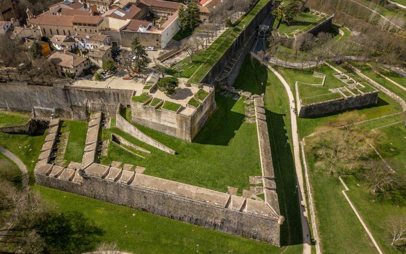 Bastión de la ciudadela de Pamplona