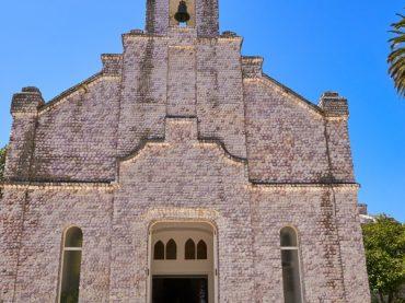 Ermita da Toxa, la capilla gallega recubierta por millares de vieiras