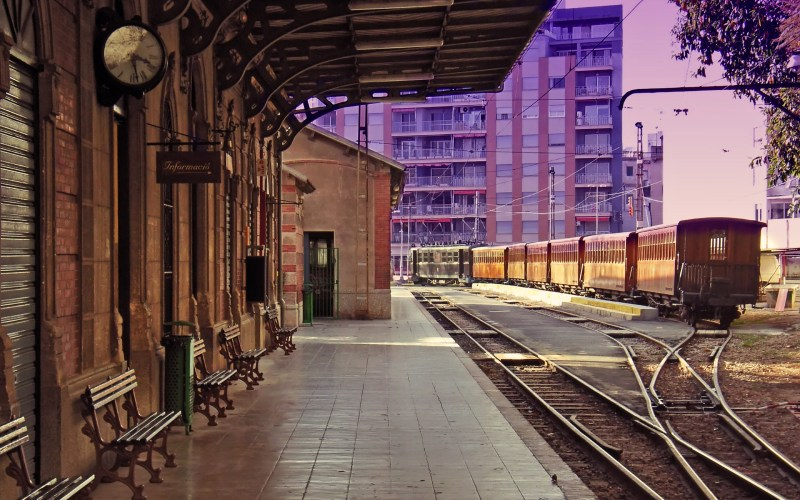 Antigua estación de Sóller