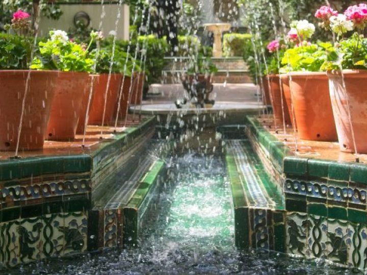 Andalucía en el jardín madrileño de Sorolla