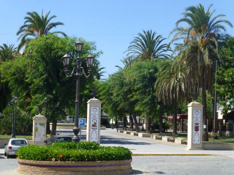 Alameda de Alfonso XI en San Roque