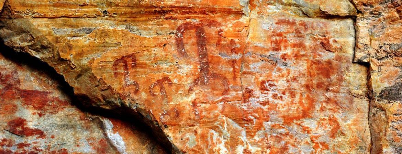 Pinturas rupestres ciudad real Batanera