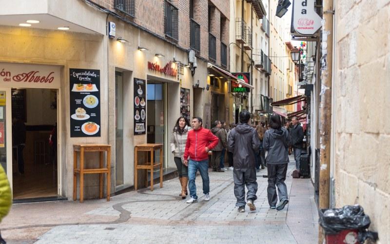 Calle del Laurel de Logroño
