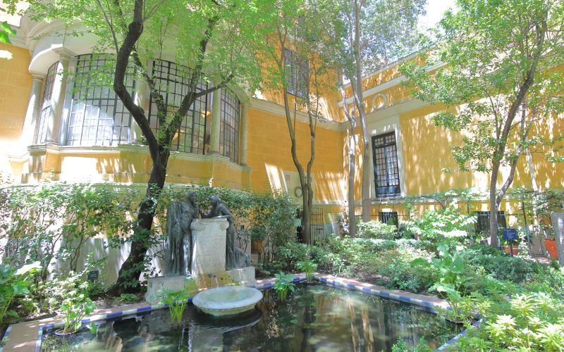 Jardín de las confidencias en el Museo de Sorolla