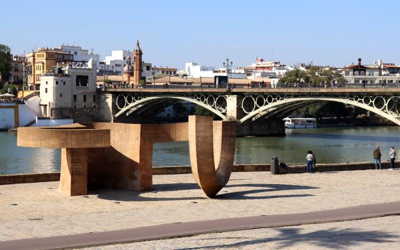 Monumento a la Tolerancia, Chillida, (Sevilla)
