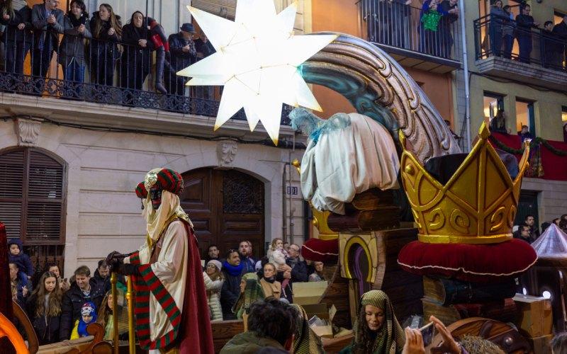 Reyes Magos en la cabalgata.| Shutterstock