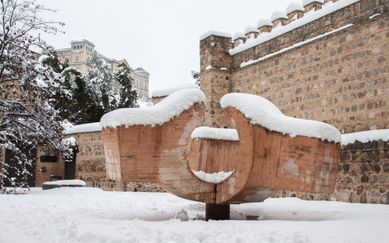 Escultura de Eduardo Chillida en Toledo