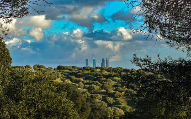 Vistas de Madrid desde El Pardo