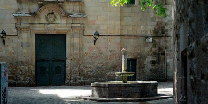 Plaza San Felipe Neri Barcelona