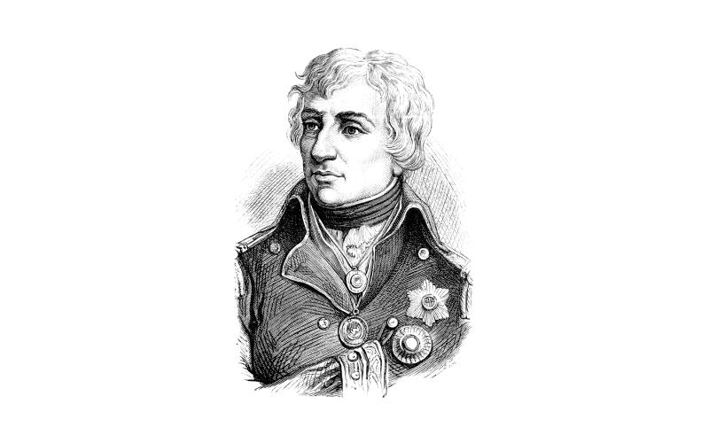 Ilustración de Horatio Nelson