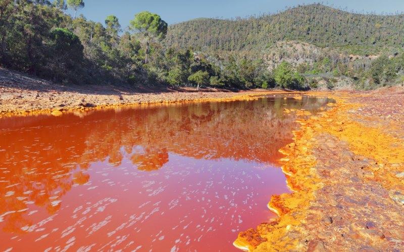 Río Tinto en Huelva. | Shutterstock