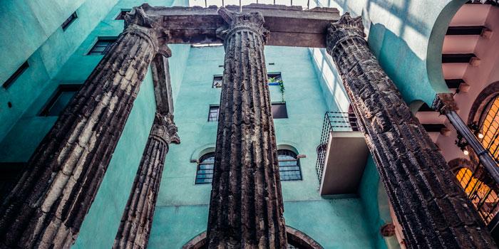 Templo Augusto Barcelona