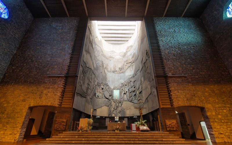 Retablo del Santuario de Arantzazu