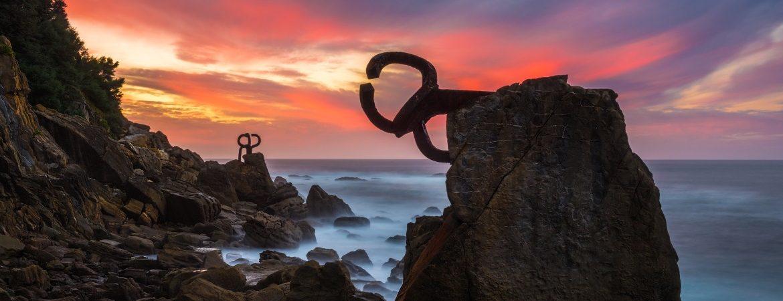 El peine del viento, Chillida (San Sebastián)