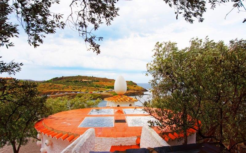Paisaje de Portlligat y la Casa-Museo de Dalí
