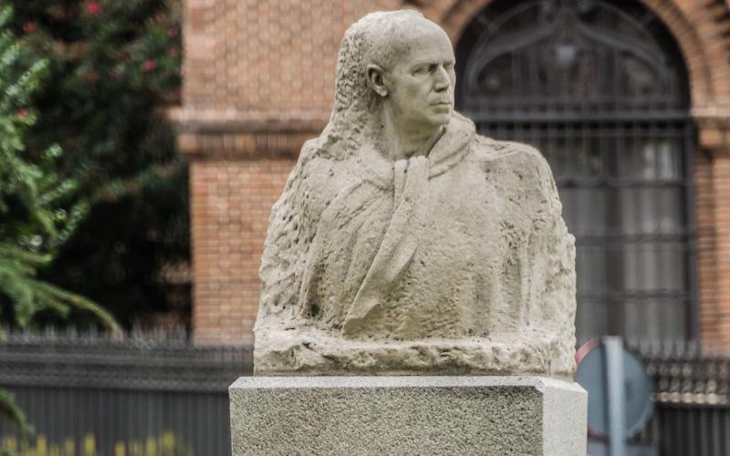 Busto del artista Ignacio Zuloaga
