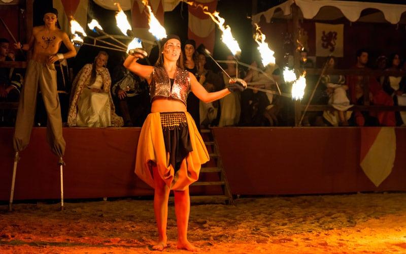 Festival Medieval de Alburquerque fiestas patronales de España en agosto