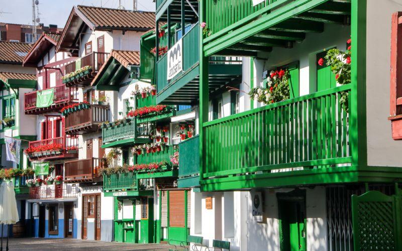 Casas en Hondarribia