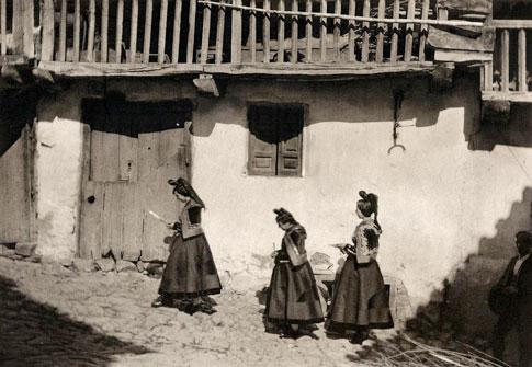 Antigua foto de Candelario