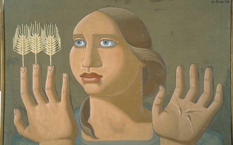 maruja mallo sorpresa trigo