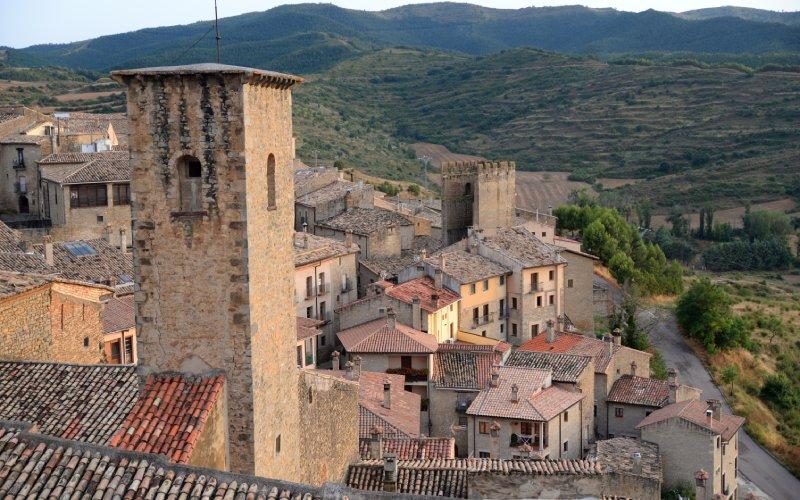 El castillo de Sos del Rey Católico es el que da nombre al pueblo