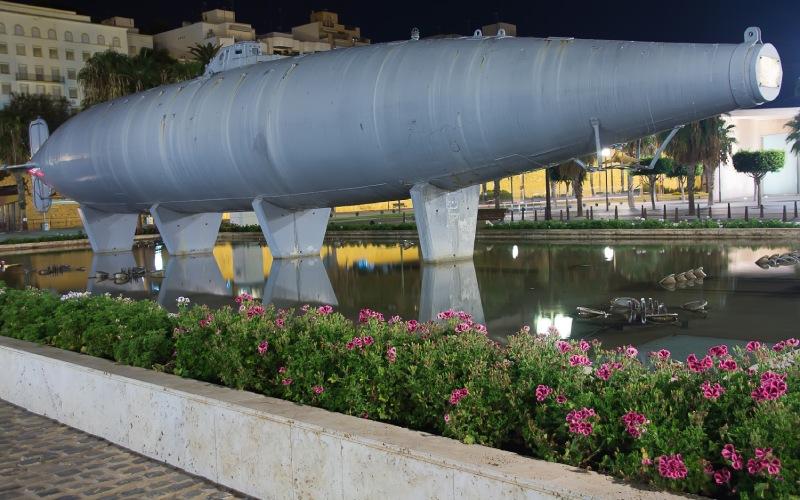 Submarino construido por Isaac Peral