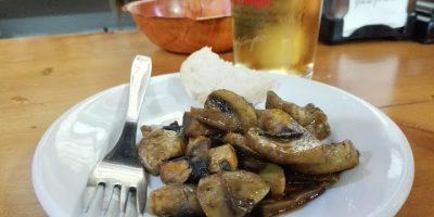 comer jaen setas taberna alcocer
