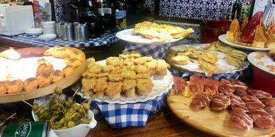 comer bilbao margen derecho pinchos taberna plaza nueva