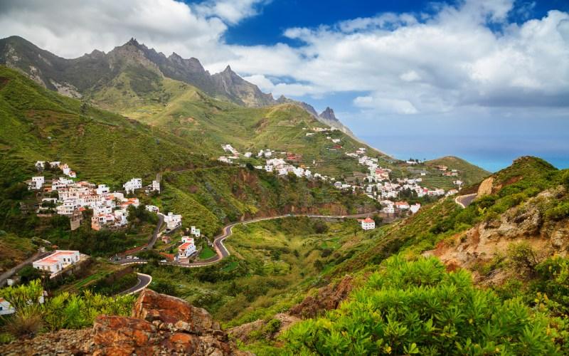 Taganana es uno de los bellos pueblos de la zona