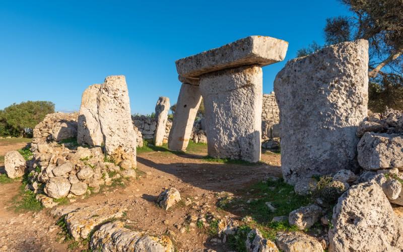 Poblado de Talatí de Dalt, en Menorca