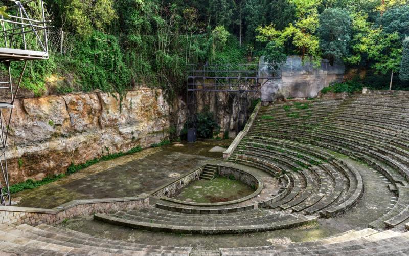 El Teatro Grec está inspirado en Epidauro