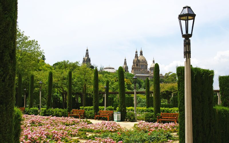 El jardín del Teatre Grec era llamado antes Rosaleda de Amargós