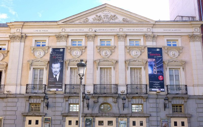 El actual Teatro español de Madrid fue en el pasado el corral de comedias de la Pacheca