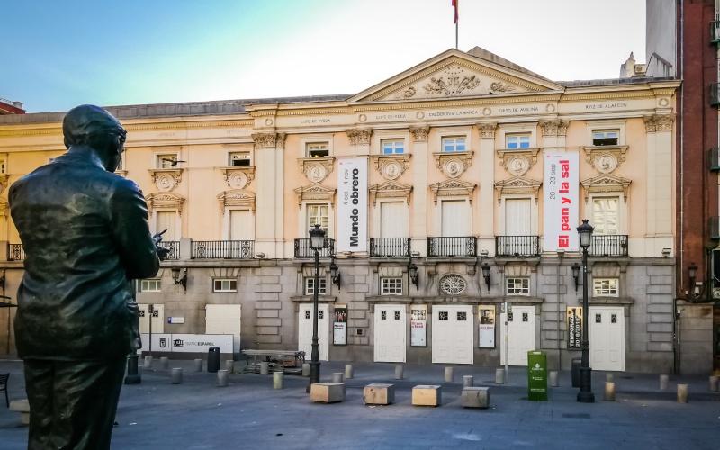 Teatro Español Barrio de Las Letras, Madrid