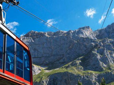 Teleférico de Fuente Dé, la subida más vertiginosa de los Picos de Europa