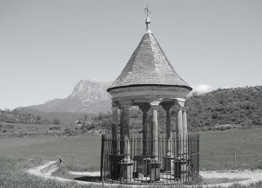 templete cruz sobrarbe